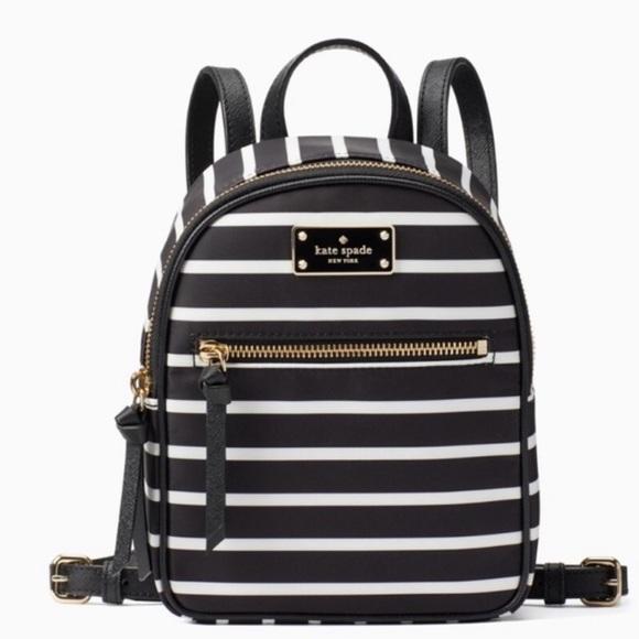 e1d65c18e92f Kate Spade Mini Bradley Wilson Stripe Backpack Bag